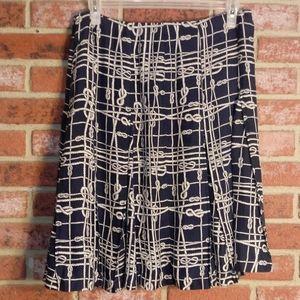 Brooks Brothers 100% silk skirt